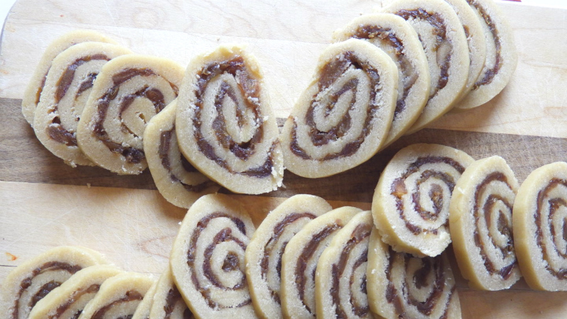 Date Filled Pin Wheel Cookies - Feature 3 450