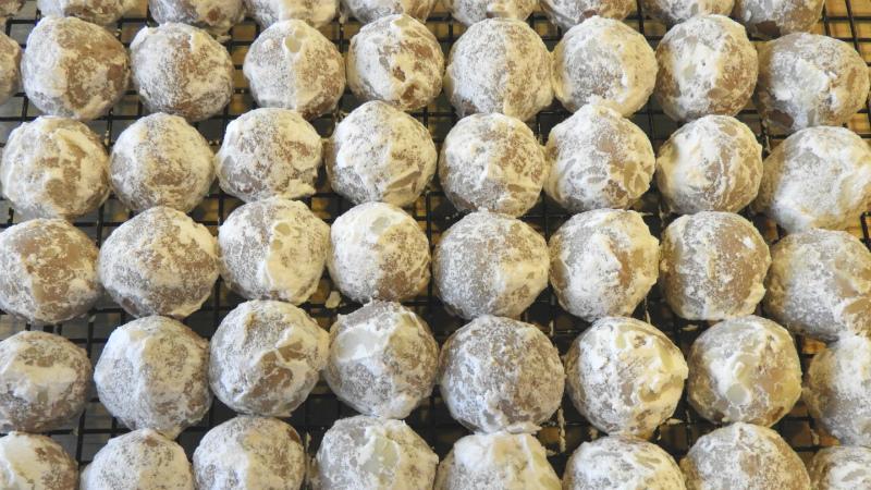 Chocolate Almond Surprises - Feature