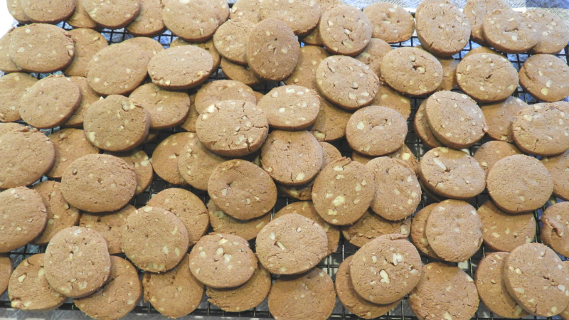 Butterscotch Chocolate Nut Cookies - Feature