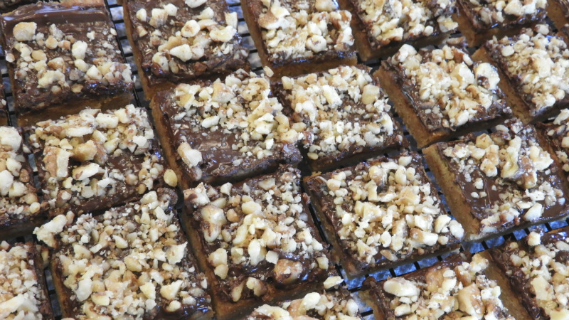 Tiny Toffee Squares - Feaure