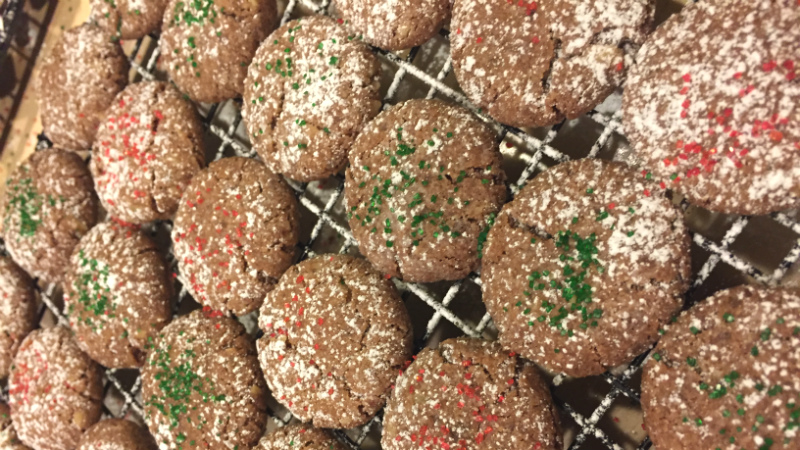 Bohemian Christmas Cookies - Feature