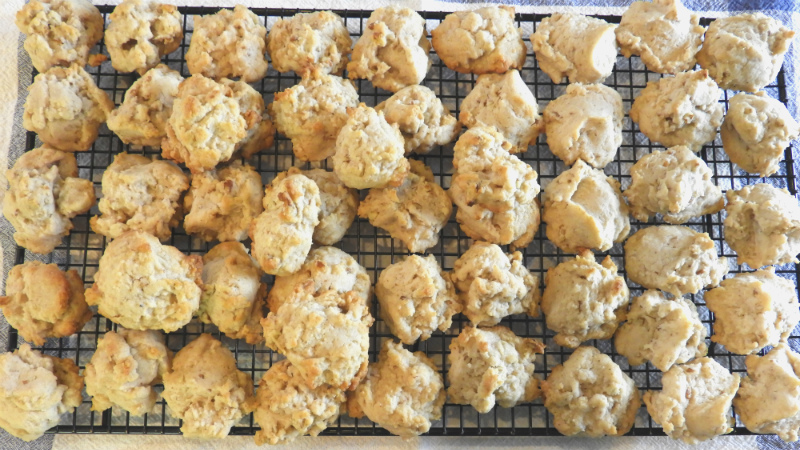 Sherry Nut Drop Cookies - Feature