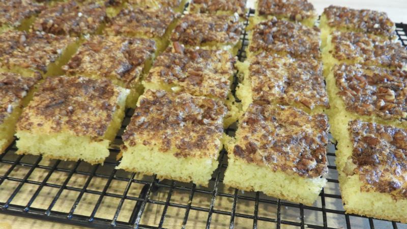 Cinnamon Nut Tea Cake Bars - Feature 2
