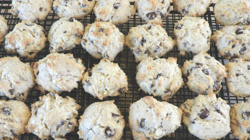 Sour Cream Chocolate Drop Cookies - Feature