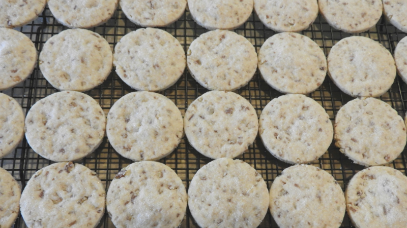 Southern Pecan Cookies - Feature