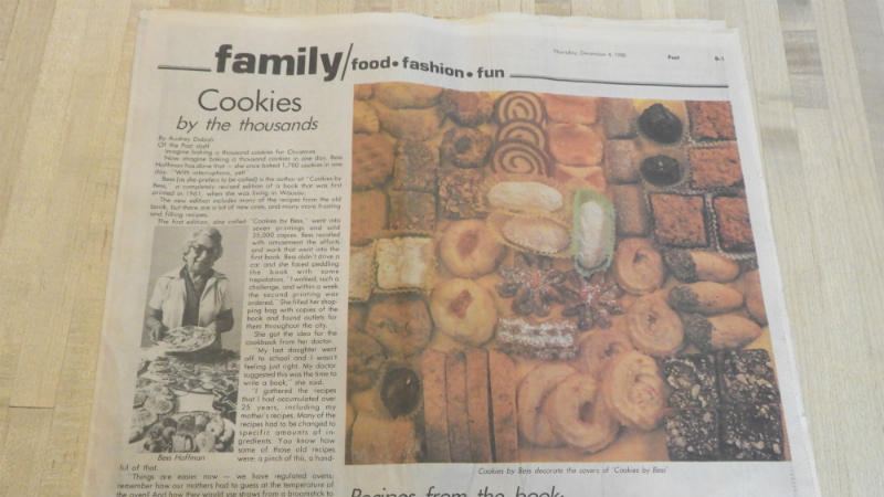 Cookies by the thousands - Feature