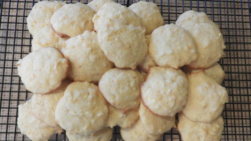 Coconut Orange Cookies - Feature