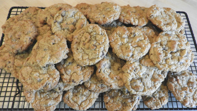 Oatmeal Chocolate Chip Cookies - Feature