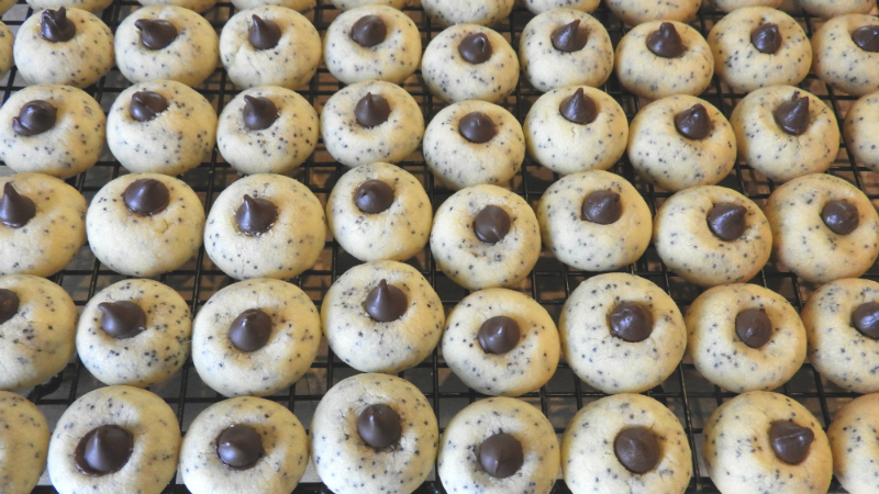 Holiday Poppy Seed Cookies - Feature