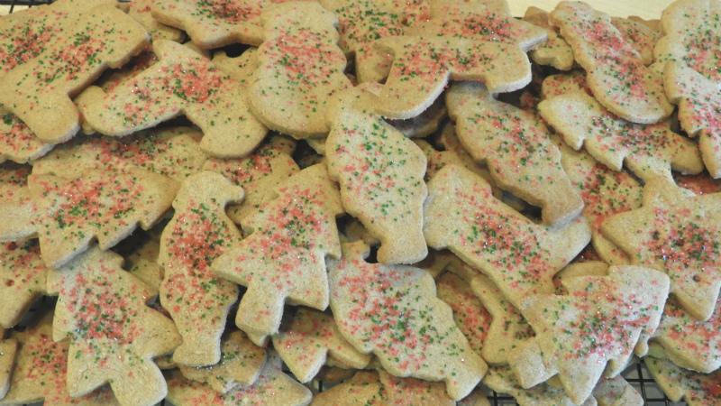 Santa Claus Cookies - Feature